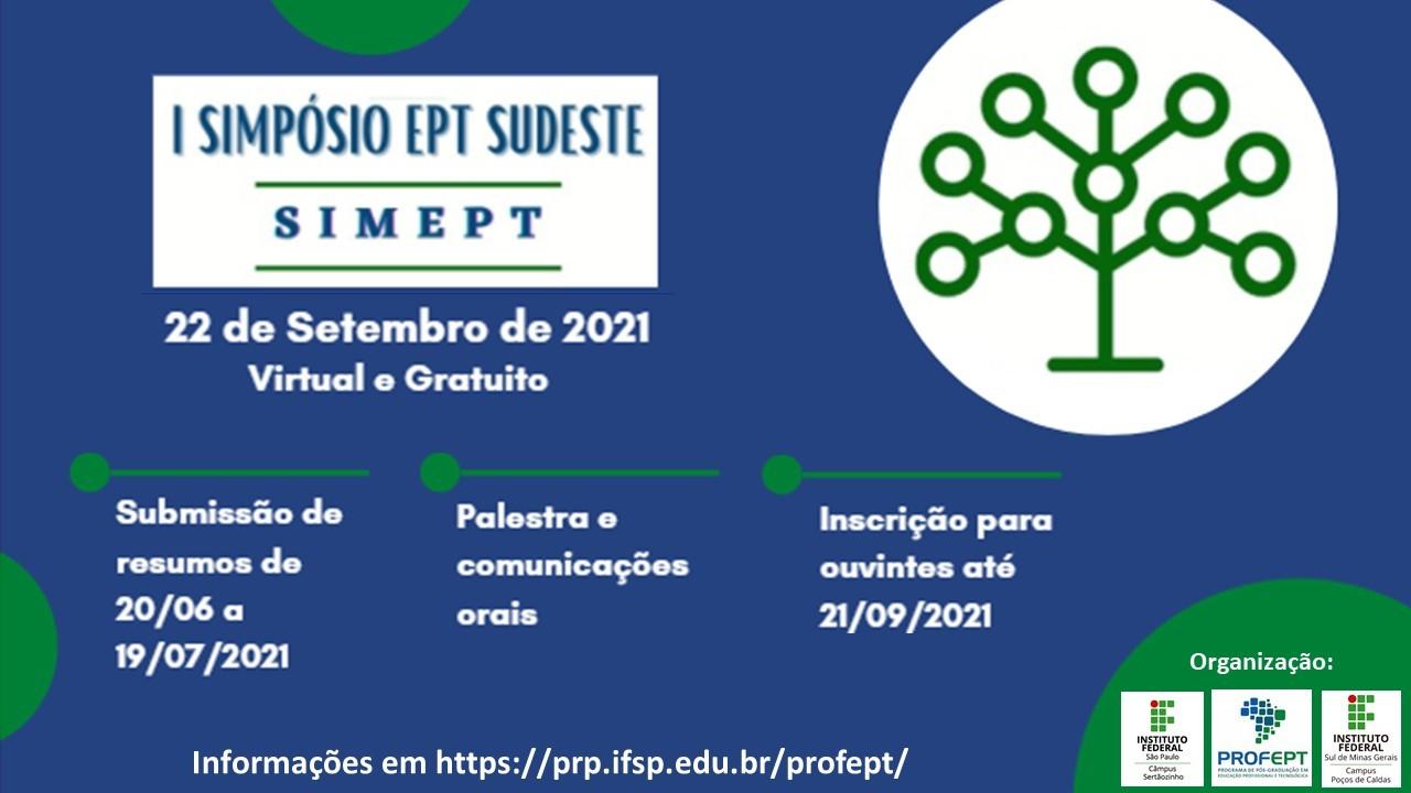 I SIMEPT - 22 de Setembro de 2021