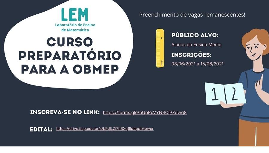 Curso Preparatório para a OBMEP 2021