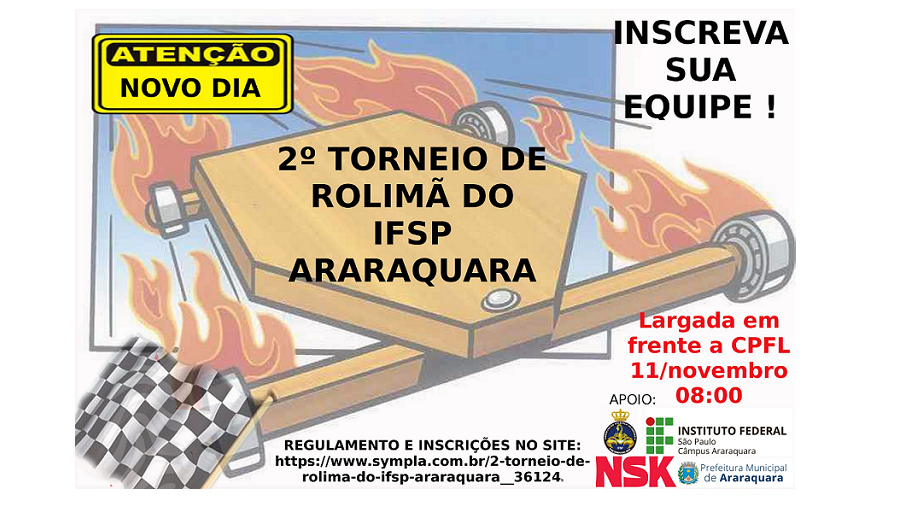 2º Torneio de Rolimã do IFSP Araraquara